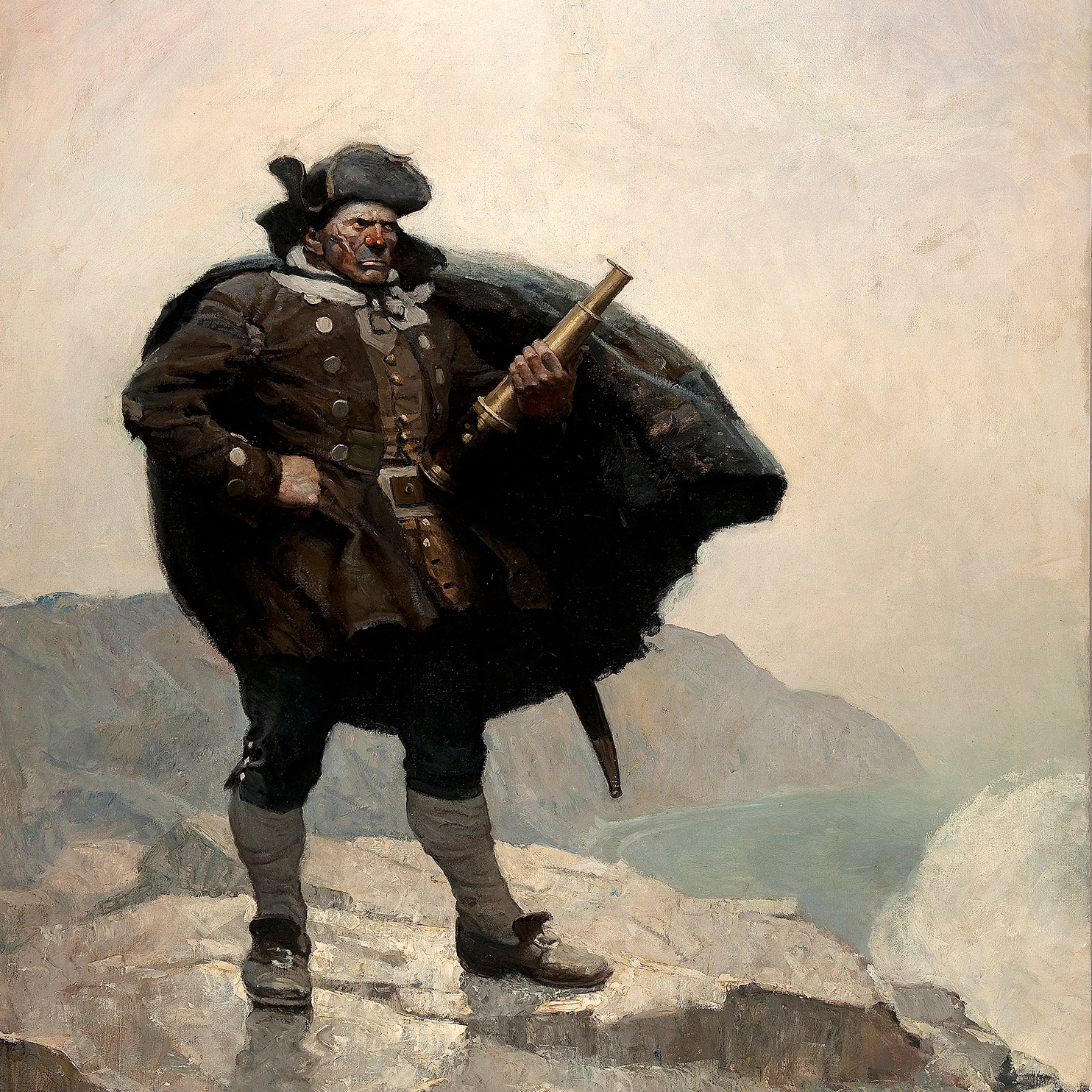 N.C. Wyeth painting