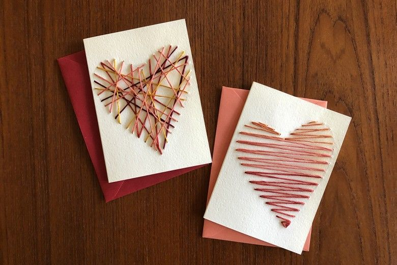 Hand-Stitched Valentine
