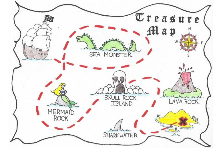 Example of Treasure Map