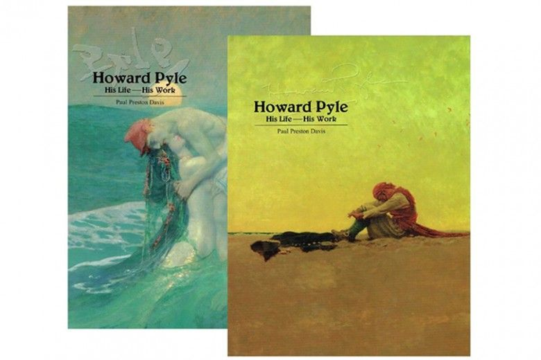 Volumes 1 & 2 of Paul Preston Davis's Howard Pyle:  His Life—His Work  (New Castle and Wilmington, Delaware:  Oak Knoll Books and The Delaware Art Museum, 2004), Collection of The Walter & Leonore Annenberg Research Center, Brandywine River Museum of Art