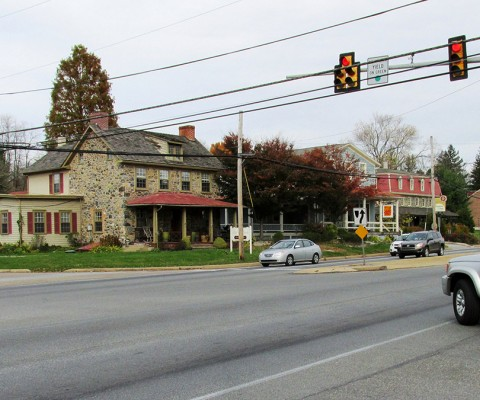Route 1 in Chadds Ford