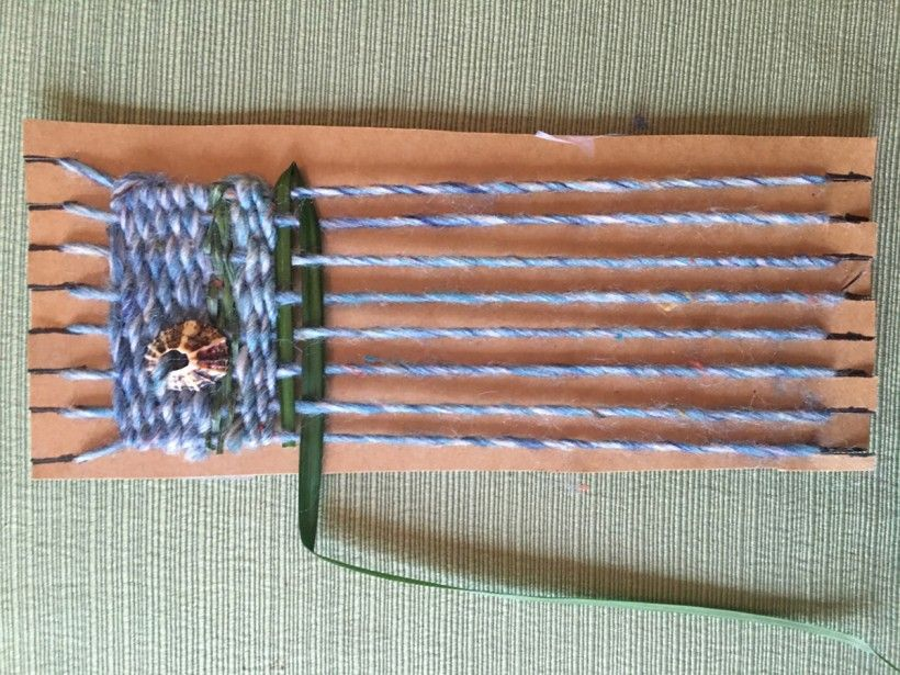 homemade nature weaving step 10