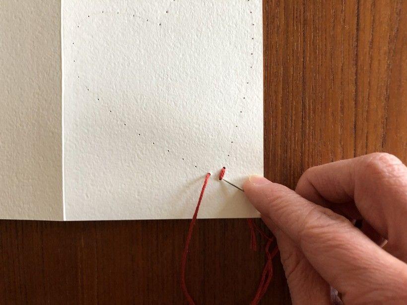 Hand-Stitched Valentine step 8