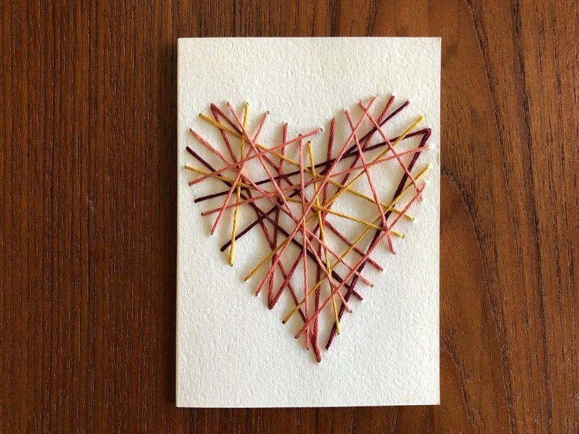 Hand-Stitched Valentine step 11