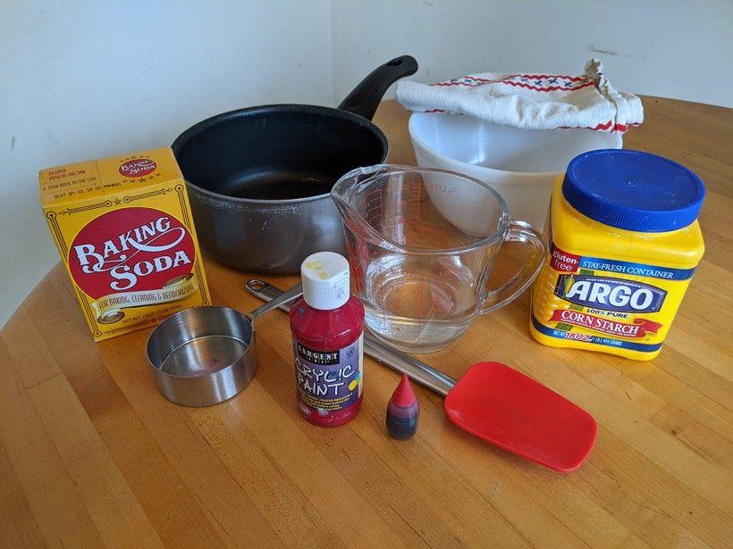 Clay heart supplies