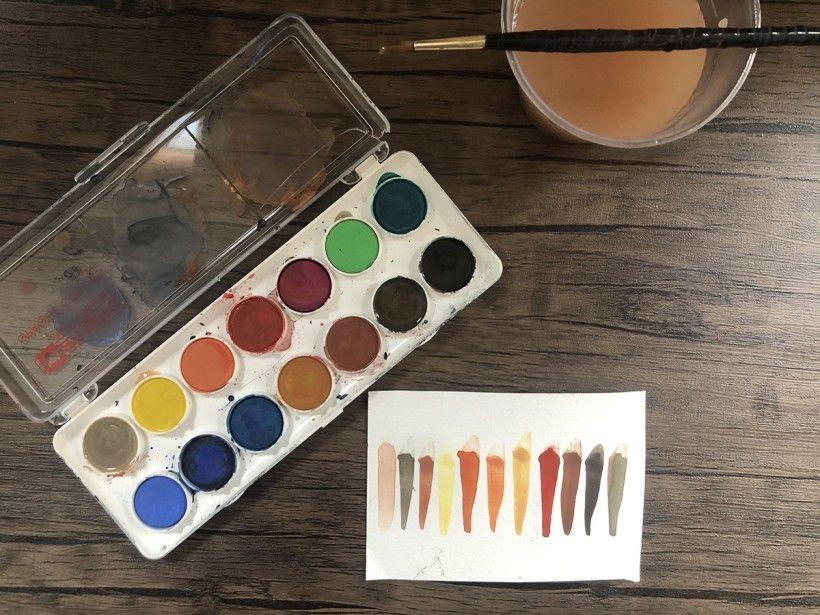 Blob art friends - step 1