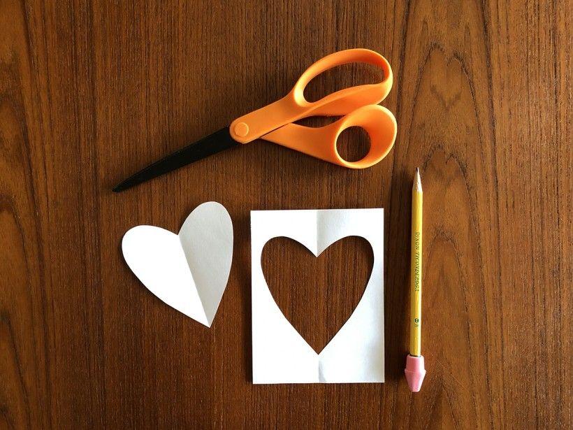 Hand-Stitched Valentine step 2