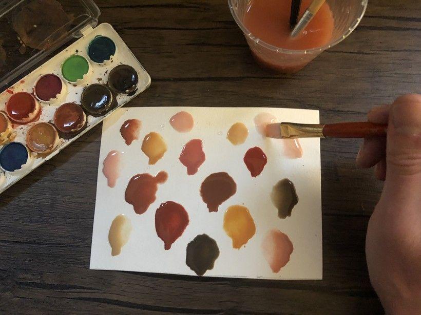 Blob art friends - step 2