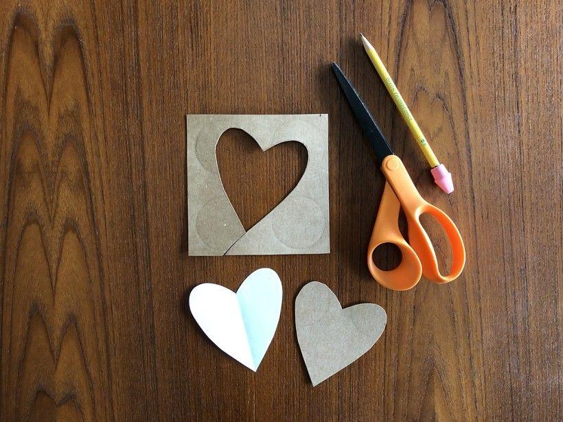 Hand-Stitched Valentine step 3