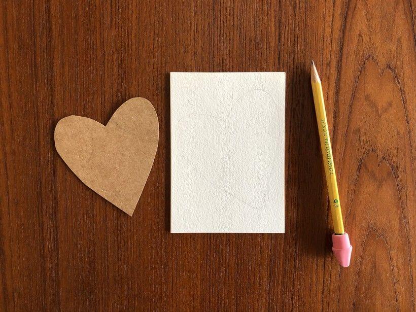 Hand-Stitched Valentine step 4