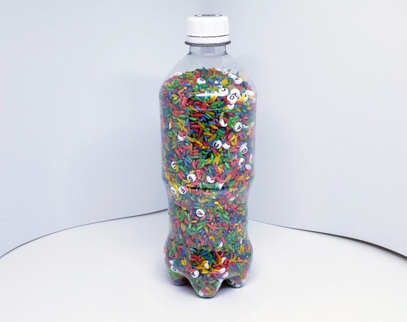 I-Spy Bottle in progress