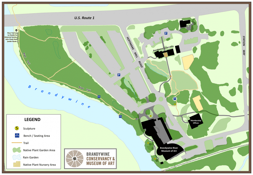 Campus map as of July 2015