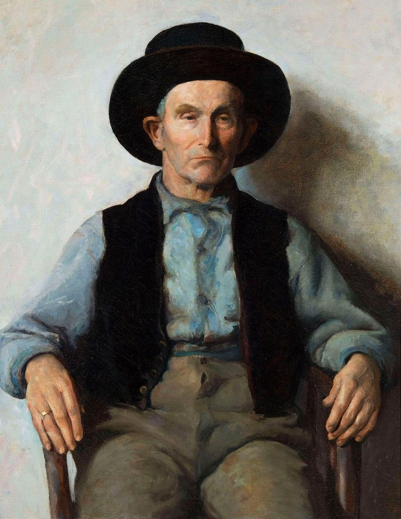 John McCoy, Jimmy, 1934, Oil on canvas, Brandywine River Museum of Art, Gift of Anna B. McCoy in honor of Frolic Weymouth's vision, 2015