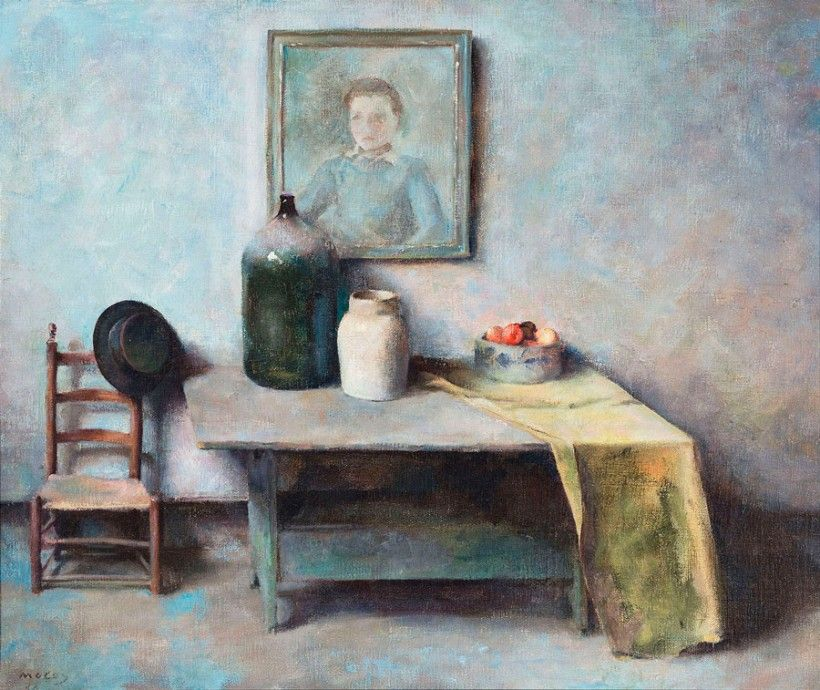 John McCoy (1910-1989), Studio Still Life, 1934, Oil on canvas, Brandywine River Museum of Art, Gift of Anna B. McCoy, 2015
