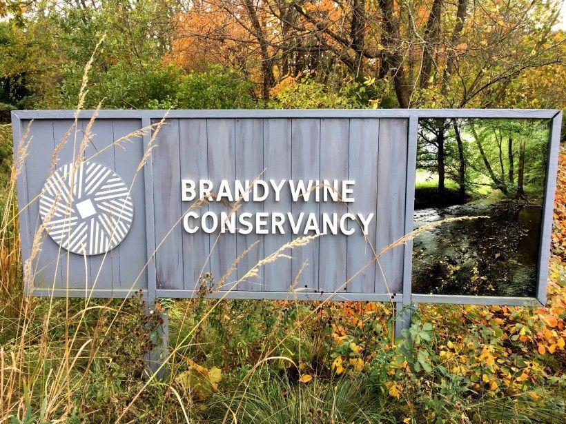 Brandywine Conservancy sign