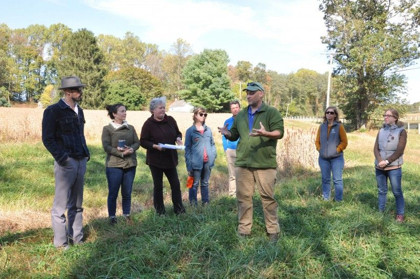 William Penn Foundation and DRWI partners on tour of key sites within the Brandywine-Christina Watershed