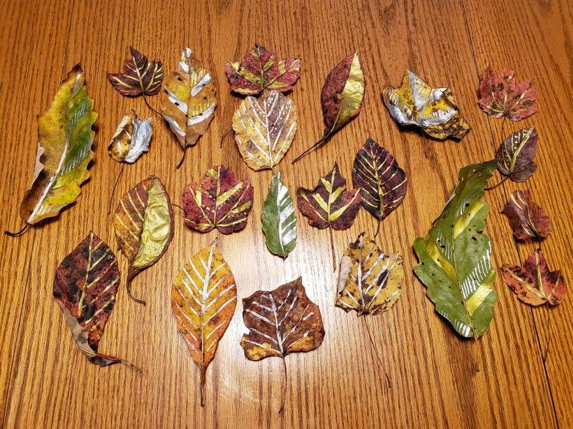 Fall wreath - step 2
