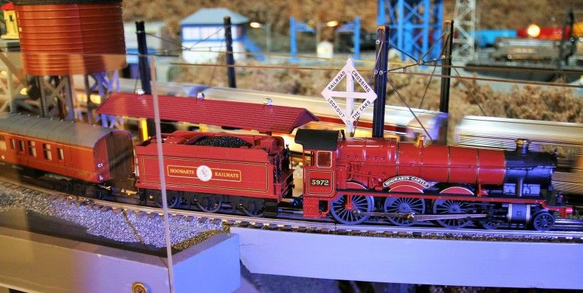 Hogwarts Express train, a new addition to A Brandywine Christmas for 2016
