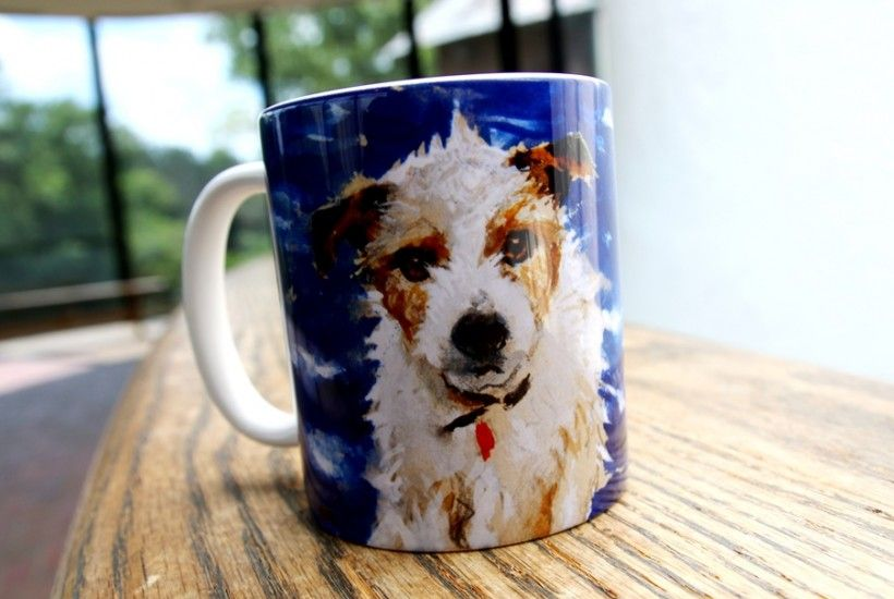 Mug featuring Homer (the dog) by Jamie Wyeth