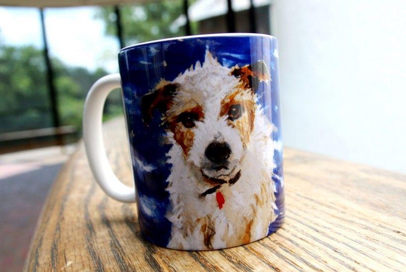 Mug featuring Homer (the dog) by Jamie Wyeth