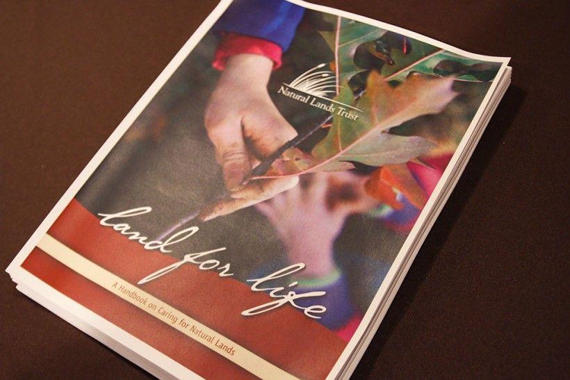 "Natural Lands' ""Land for Life"" handbook"