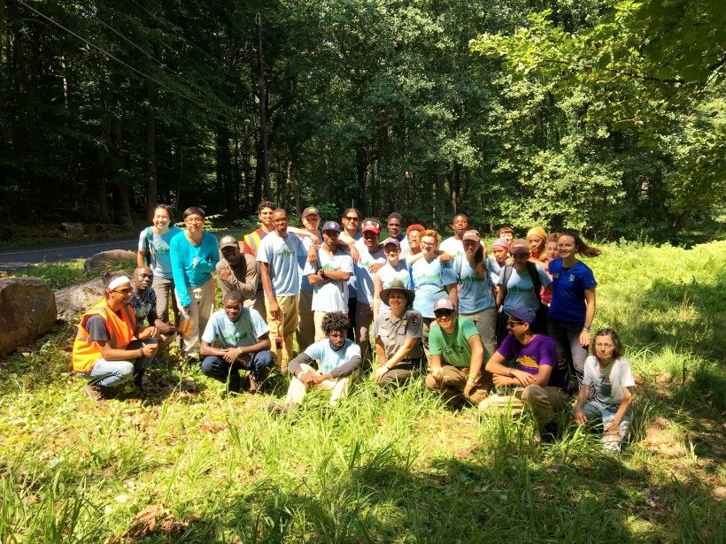 LEAF Interns from The Nature Conservancy