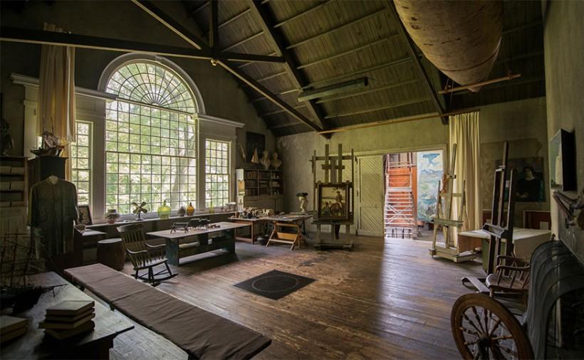 NC Wyeth Studio