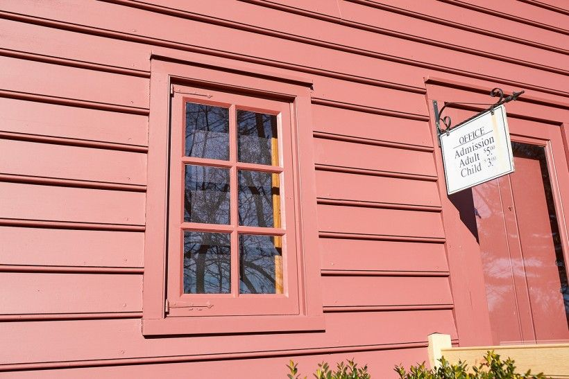 AFTER photo of wood window restoration. Photo Credit: John Milner Architects, Inc.