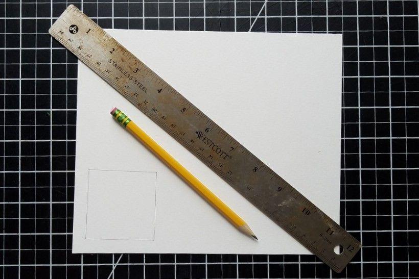 paper platonic solids - step 2
