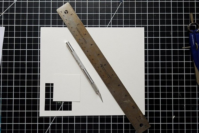 paper platonic solids - step 3