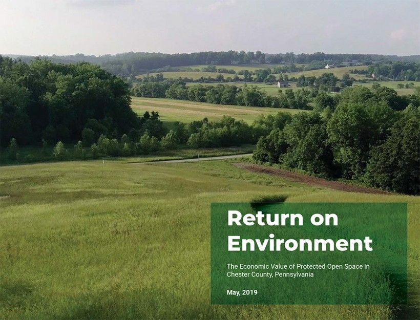 Return on Environment report cover