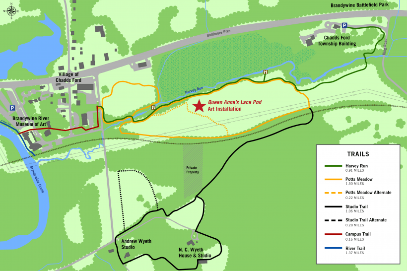 map to installation