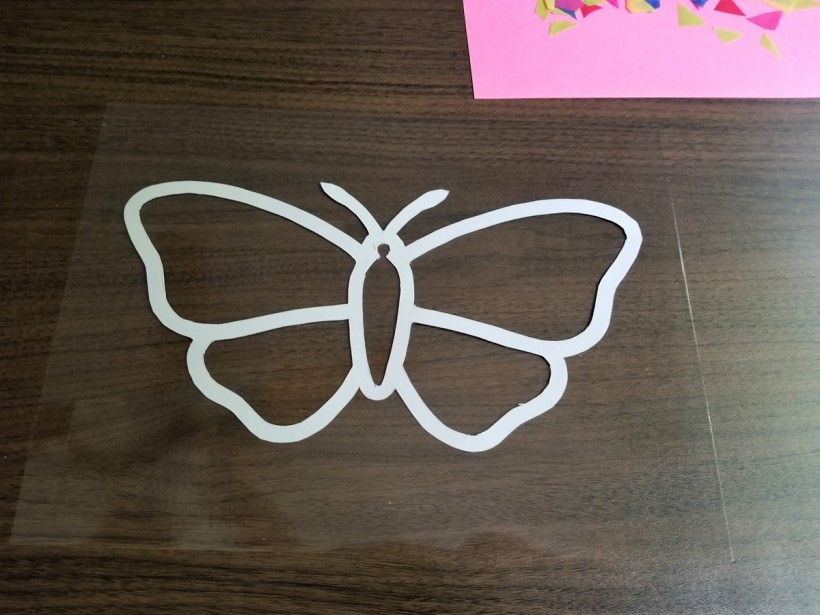 DIY Stained Glass Butterfly