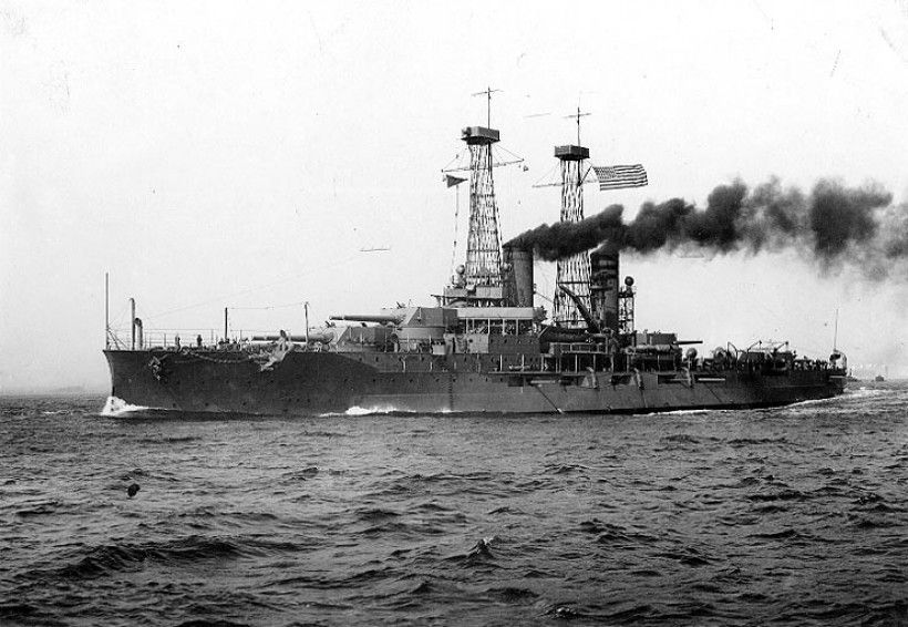 The USS North Dakota In commission 1910-1923