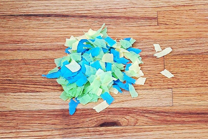 cut up paper