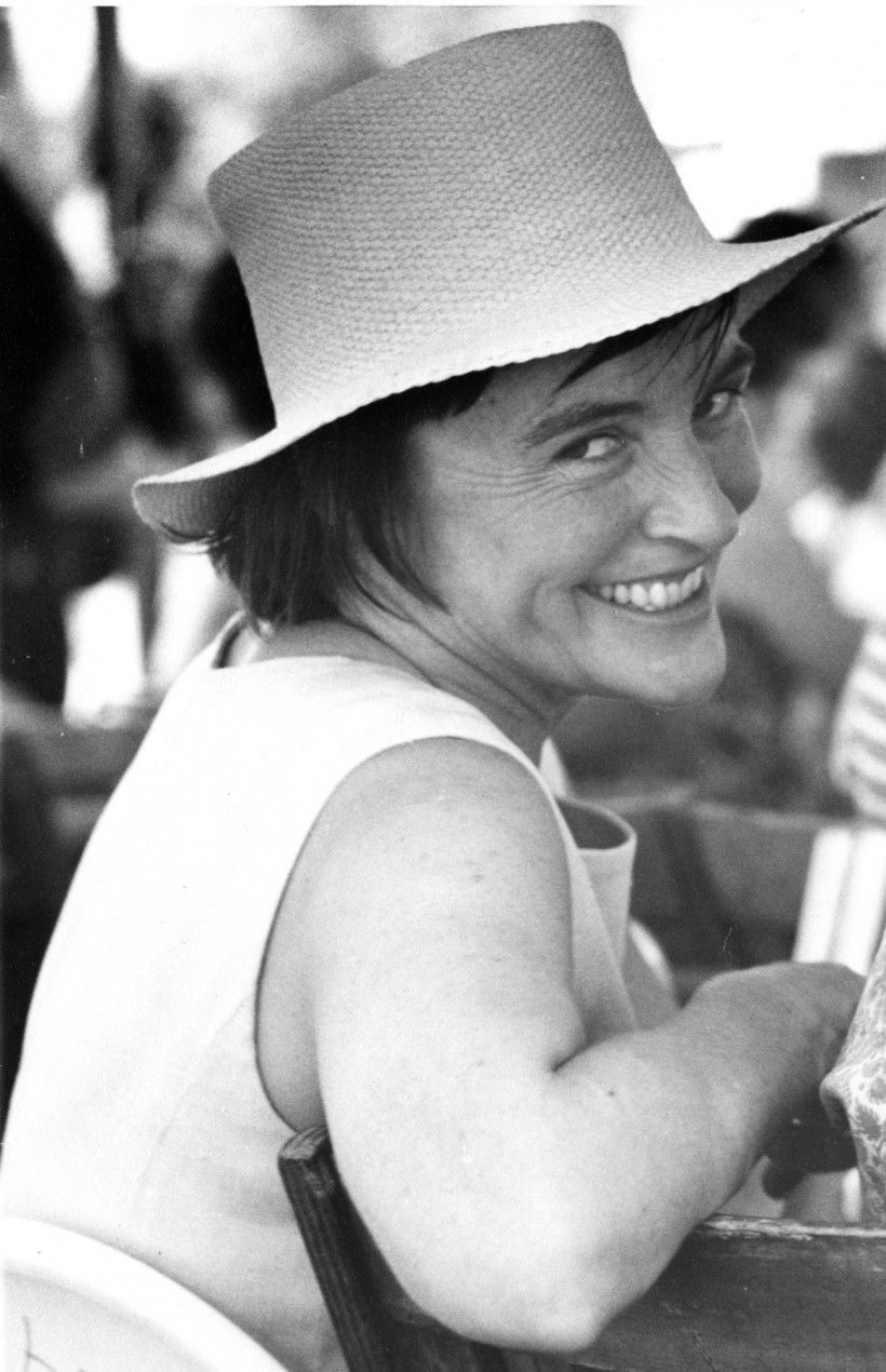 Betsy James Wyeth, 1968, photographer unknown. Courtesy of the Wyeth Family Archives.