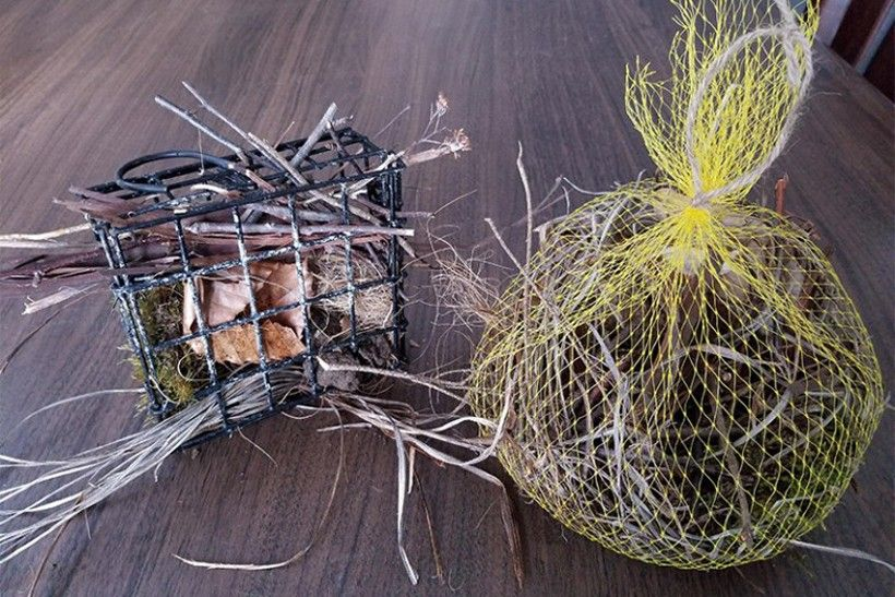 DIY Bird Shop: Nesting Materials