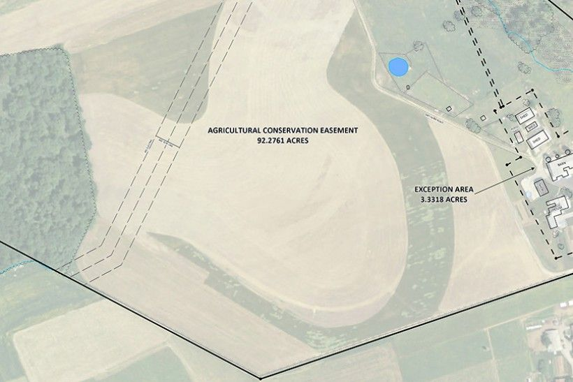 easement map