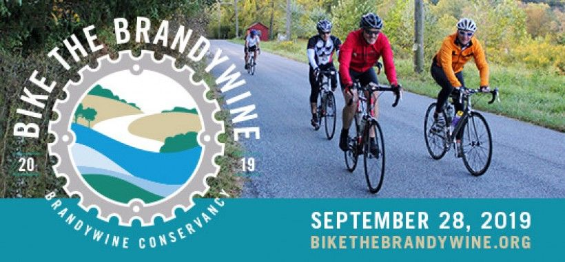 Save the date for Bike the Brandywine 2019!
