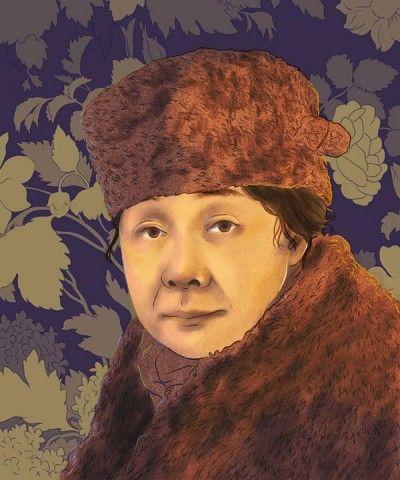 Sofia de Veyra portrait by Sarah Jung