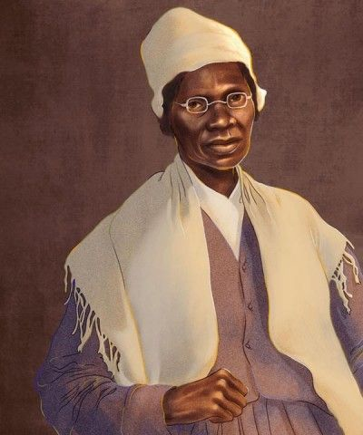 Sojourner Truth portrait by Sarah Jung