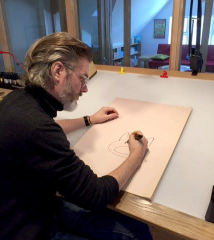 Mo Willems. Photo by Nick Clark