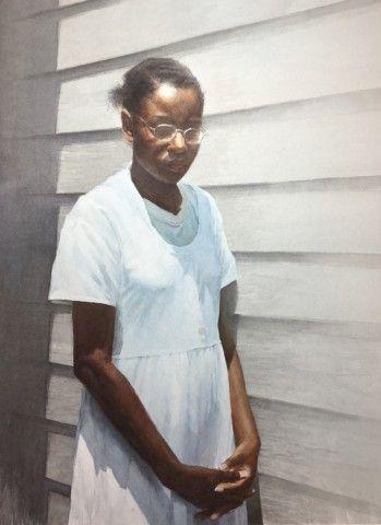 Mario Andres Robinson, Freedom, watercolor, 30 x 22 in.