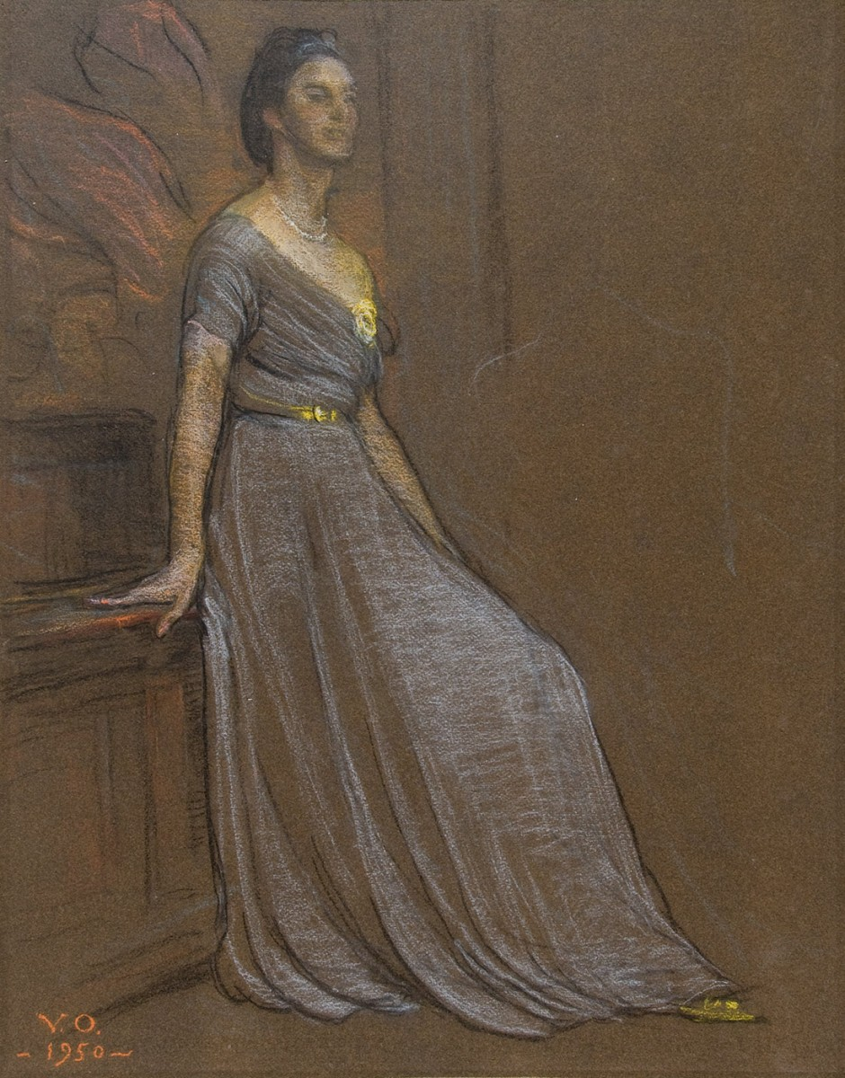 Violet Oakley (1874-1961) Mrs. Norman Taylor, 1950