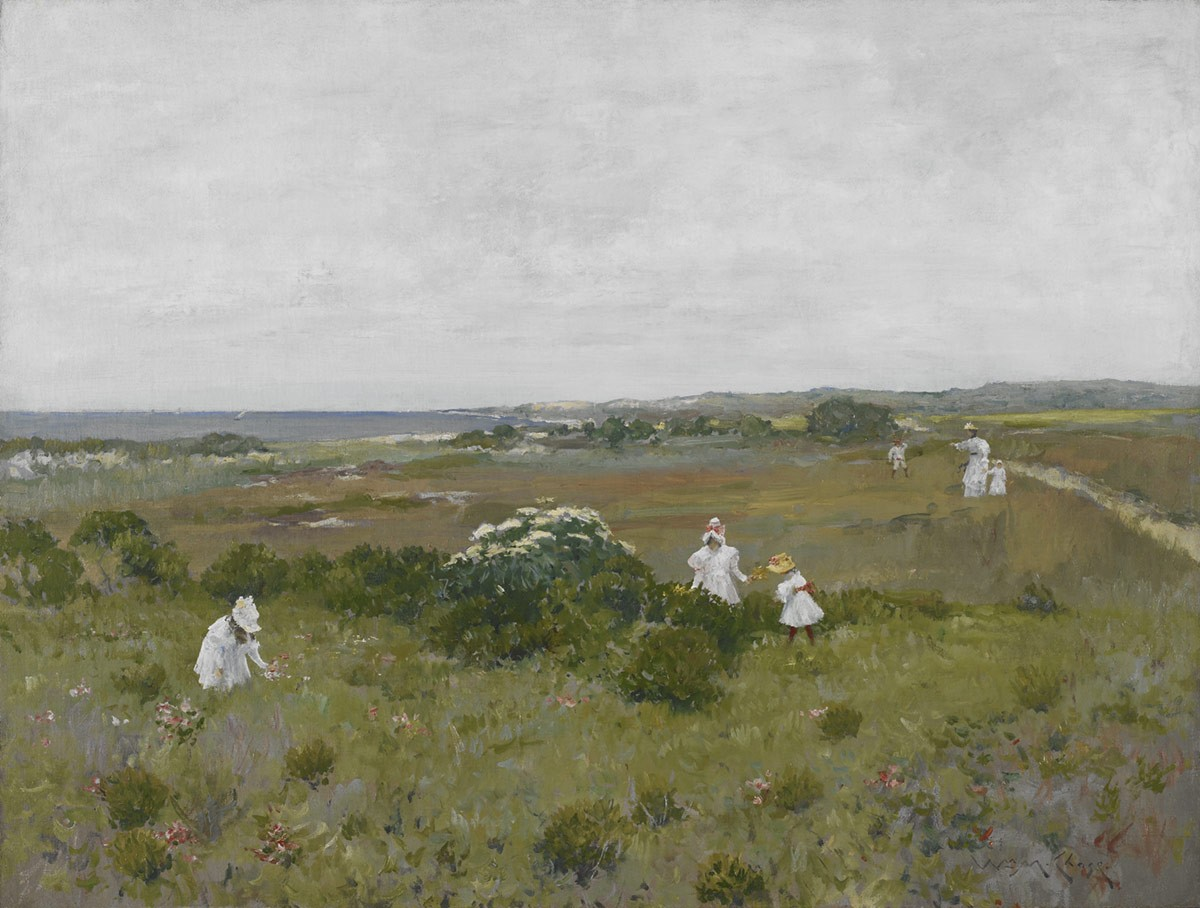 William Merritt Chase, Seaside Flowers, ca. 1897