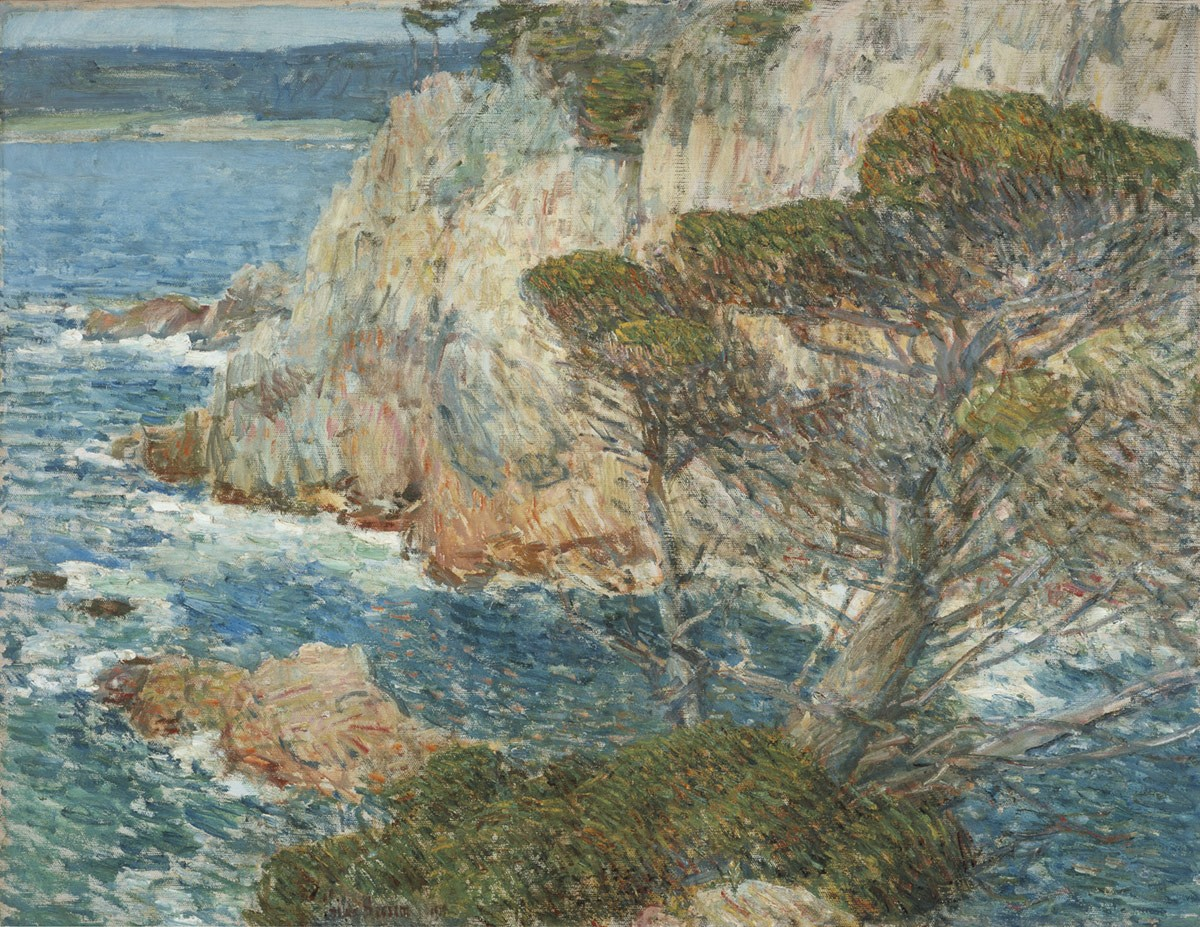 Childe Hassam, Point Lobos, Carmel, 1914