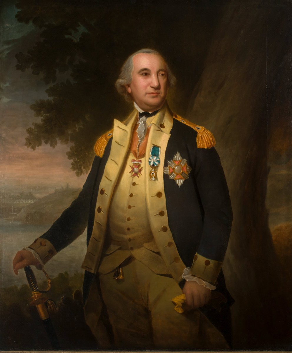 Ralph Earl (1751-1801), Baron von Steuben, ca. 1786, Oil on canvas, Gift of A. Pennington Whitehead and O. Z. Whitehead, 1994