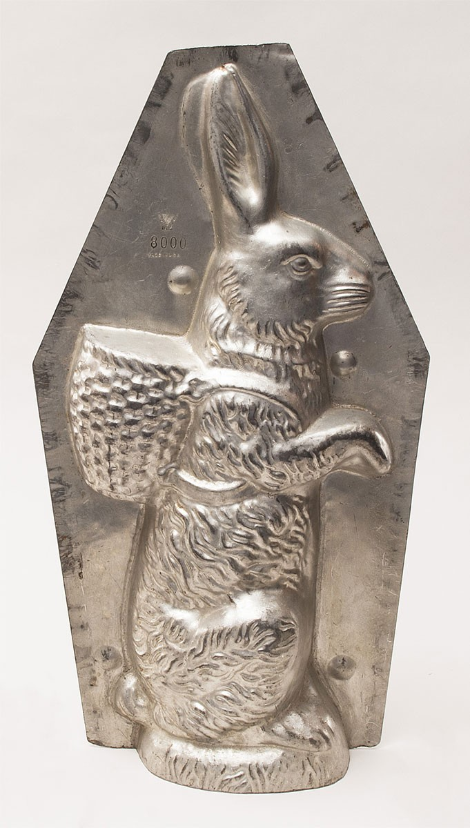 Classic Hare Chocolate Mold