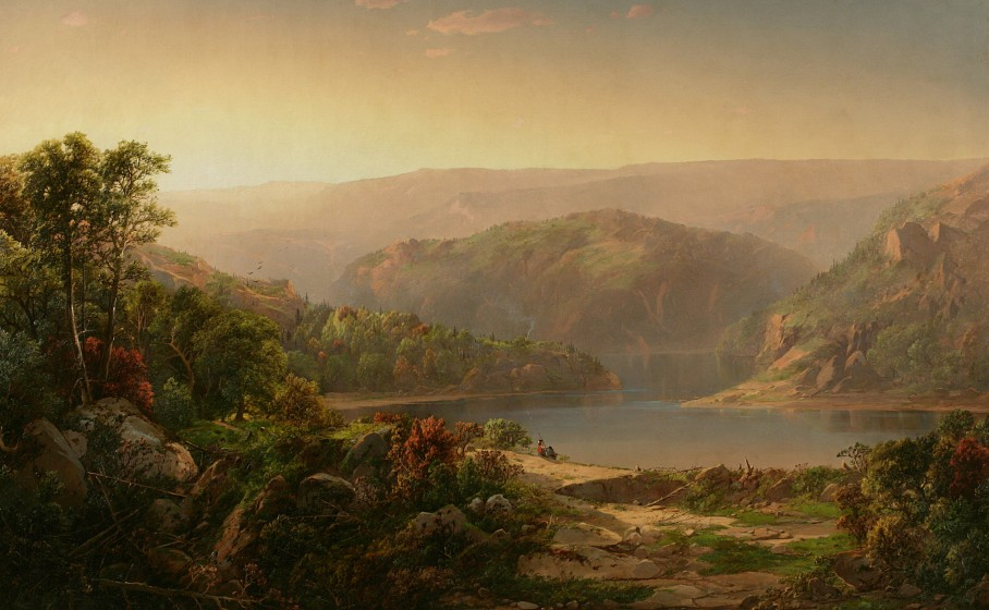 an analysis of thomas cole on landscape painting Paintings by thomas cole in alphabetical order dimensions and material of painting, 1828: distant view of niagara falls landscape, the seat of mr.