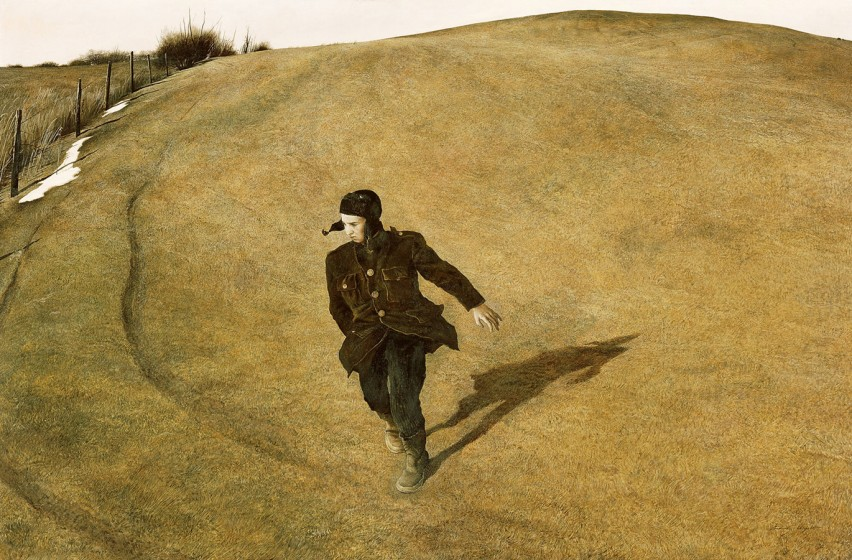 Andrew Wyeth (1917-2009). Winter, 1946, 1946, tempera. North Carolina Museum of Art, Raleigh. ©2017 Andrew Wyeth/Artists Rights Society (ARS)